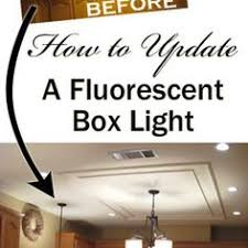 kitchen fluorescent lighting. removing a fluorescent kitchen light box lighting l