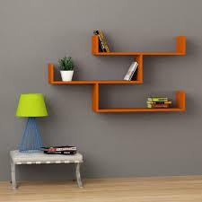 creative wall shelves open shelving ideas interior shelf though modern living room design floating dark wood