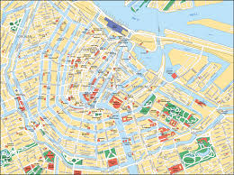 map of amsterdam tourist attractions sightseeing  tourist tour