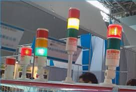hntd 60 monolayer 1 color tower type 24v often bright with buzzer led indicator light cnc machine tool warning lamp