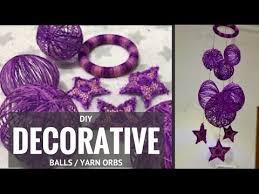 Orb Decorative Ball DIY Yarn Balls Make Decorative Balls and Yarn Orbs Yarn Crafts 98