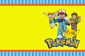 Pokemon Birthday Invitations From Kinderhooktap For A Magnificent