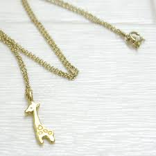 3 12 restocked edgardo giraffe gold dip necklace stand out from the crowd reminder necklace dogeared accessories gifts gift mrg g100 708200