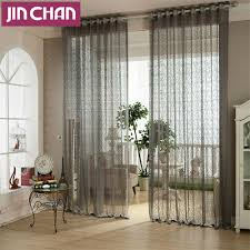 Window Treatment For Living Room Popular Grey Window Treatments Buy Cheap Grey Window Treatments