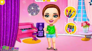 fun care learn makeup colors games sweet baby beauty salon 3 hair nails gameplay