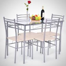 large size of vecelo dining table with 4 chairs black glass top dining tables glass dining