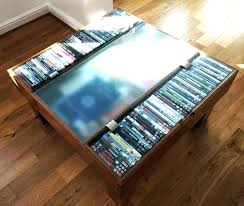 coffee table storage best of with cd dvd
