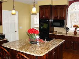 eye catching two tone kitchen color schemes diy best wall color for kitchen with dark cherry cabinets