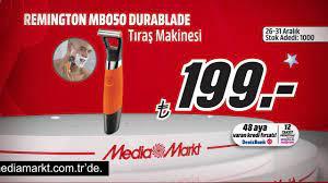 Yılbaşına Özel REMINGTON Durable Tıraş Makineleri MediaMarkt'ta 199 TL -  YouTube