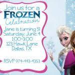How To Get Frozen Birthday Invitations Invitations Online