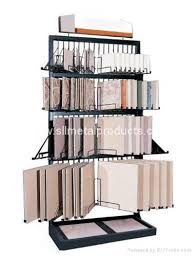 ceramic display rack tile display shelf exhibition display