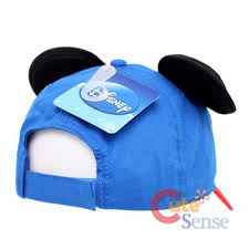 diy mickey mouse ears baseball cap hat ear how to make with