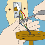 diy0386 png wiring a wall light diy tips projects advice uk lets do