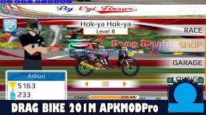 drag bike 201m mod apk versi
