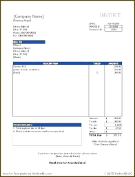 Web Development Invoice Template Software Format New Letter Temp