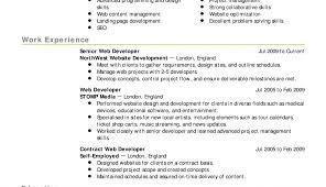 Ruby On Rails Developer Resume Sample Examples Web Development