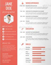 Resume Examples, Work Experience Education Skills Resume Design Templates  Jane Doe Photograph Get In Touch