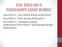 robert e lee high school writing plan essay writing across the  eoc english ii persuasive essay rubric score point  very limited writing performance