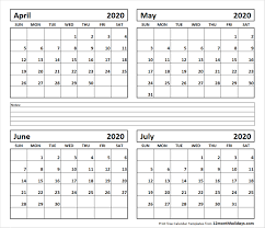 June July 2020 Calendar Calendar For June July 2020 Gallery Of Calendar Printable