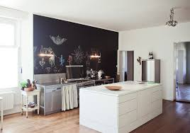 kitchen blackboard wall