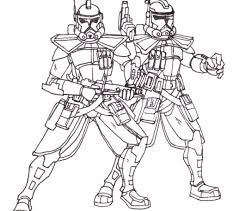 Small Picture Clone Trooper Coloring Pages Best Coloring Pages