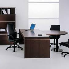 round office desk. beautiful desk zeta executive rounded supplementary unit meeting  end by narbutas throughout round office desk n