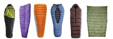 How to Choose the Best Backpacking Sleeping Bag   OutdoorGearLab & Types of 3-season sleeping bags left to right: traditional (hood + zipper Adamdwight.com