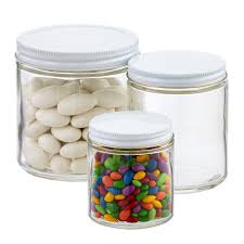 Commercial Straight-Sided Glass Jars ...
