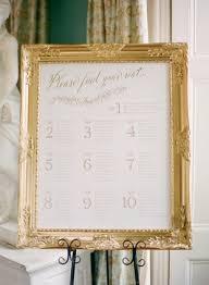 Wedding Inspiration Golden Glow Canva Seating Chart