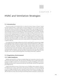 Method Statement For Duct Light Test Pdf Chapter 7 Hvac And Ventilation Strategies Guidelines For