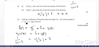 IB IB HL Exam Questions for Functions - Compound and Inverse ...