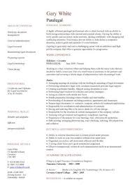 Paralegal Resume Template Unique Paralegal Resume Sample Resume Templates