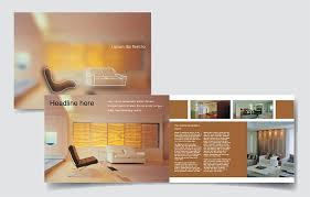 Interior Design Brochure Template Classy Interior Design Company Brochure Toddbreda