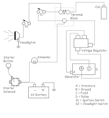 v starter solenoid wiring diagram all wiring diagrams wiring diagram for ford 9n 2n 8n 12 volt solenoid