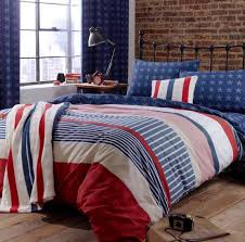 catherine lansfield stars stripes single duvet cover