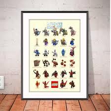 Lego Nexo Knights Poster Nexo Knights Chart Lego Nexo Evan