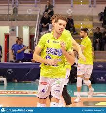 Volleyball Italian Serie A Men Superleague Championship Top Volley Latina  Vs Vero Volley Monza Editorial Stock Image - Image of superleague,  vollayball: 163561429