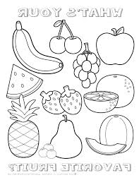 Ideas Fruits Coloring Pages Pdf And Fruit Coloring Pages Fruit