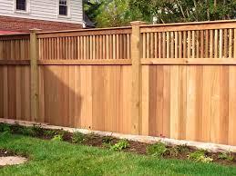 precious image wooden privacy fence ideas diy