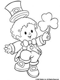 st pats coloring for the little ones find this pin and more on holiday coloring pages