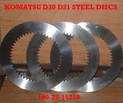 komatsu d21 d21 steering clutch komatsu d20 d21 steel discs