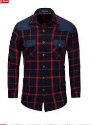 Mens Shirts,<b>Mens Business Casual</b> Fashion Plaid Long Sleeved ...