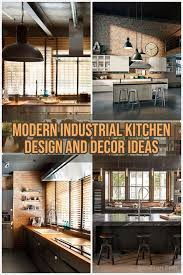30 Top And Fabulous Modern Industrial Kitchen Design And Decor Ideas