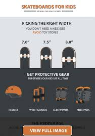 How To Choose A Skateboard For Your Child Visual Guide