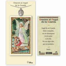 bliss spanish guardian angel medal