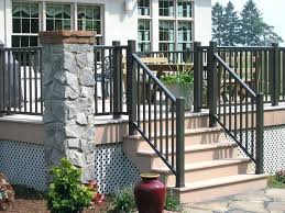 glass deck railing systems home depot porch gate intended for recent design glass deck railing