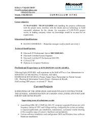 Shift Leader Resume Amazing IT MANAGER TEAM LEADER CV