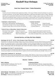 Supervisor Resume Objective Examples Examples Of Resumes
