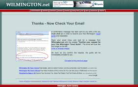 thank you page examples aweber email marketing click to view full thank you page