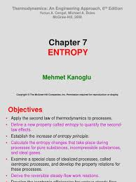 Chapter 7 Lecture | Entropy | Gas Compressor